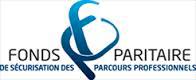 Logo FONDS PARITAIRES de sécurisation des parcours professionnels
